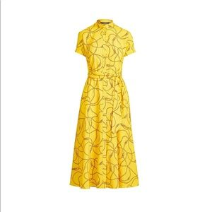✨Lauren Ralph Lauren Chain Print Crepe Dress